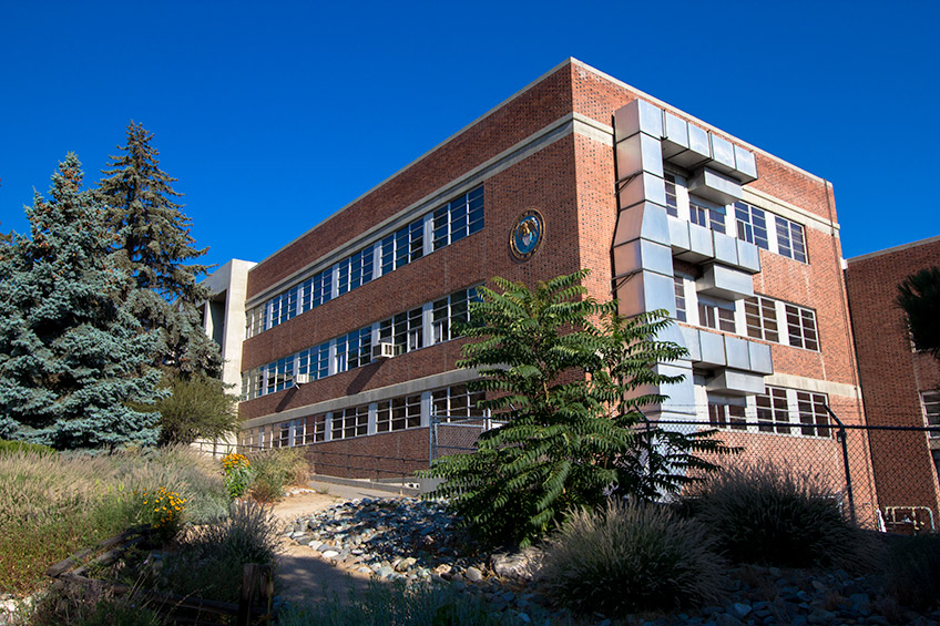 Side view of the Applied Research Facility
