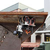 robotic system inspects underside of bridge structure
