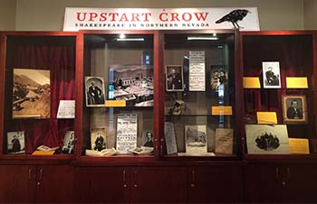 Upstart Crow Exhibit