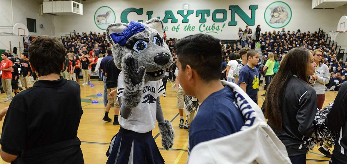 Clayton Middle School College Day