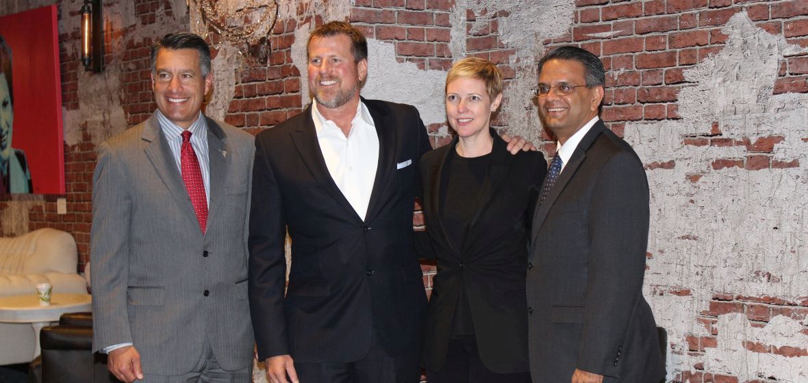 Governor and VPRI Gautam join Capstak co-founders