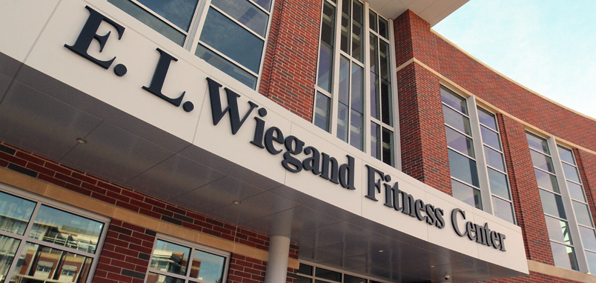 EL Wiegand Fitness Center exterior
