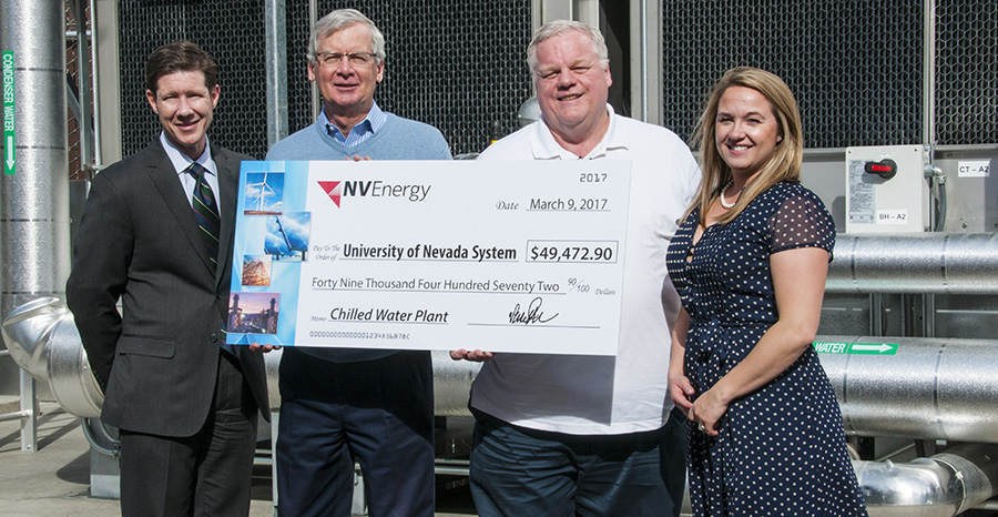 NV Energy, Check Presentation, Central Chiller Plant