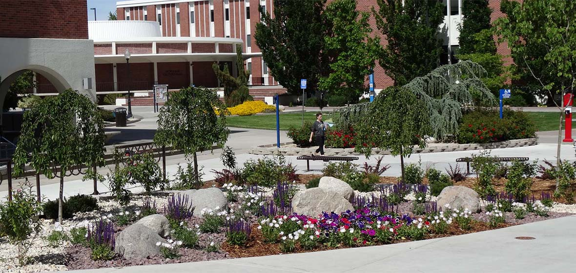 Trexler Garden on the University of Nevada, Reno campus