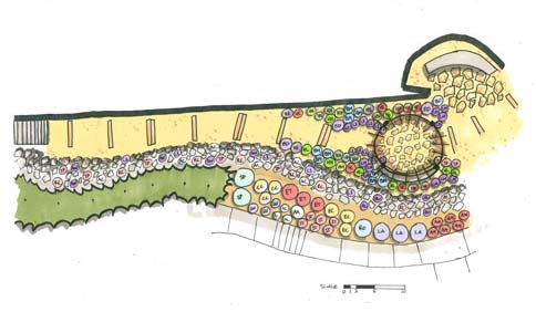 Wellness Garden rendering for University of Nevada, Reno campus