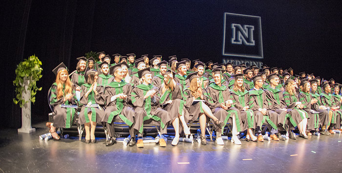 The UNR Med class of 2018 celebrated commencement at the Pioneer Center for the Performing Arts in Reno on Friday, May 18, 2018