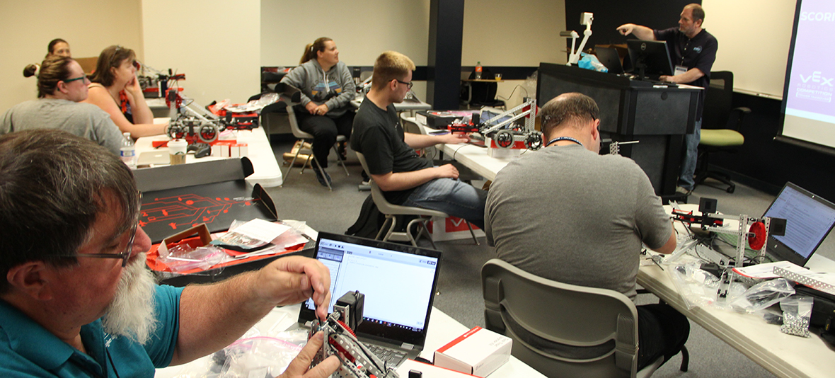 teachers learn robotics
