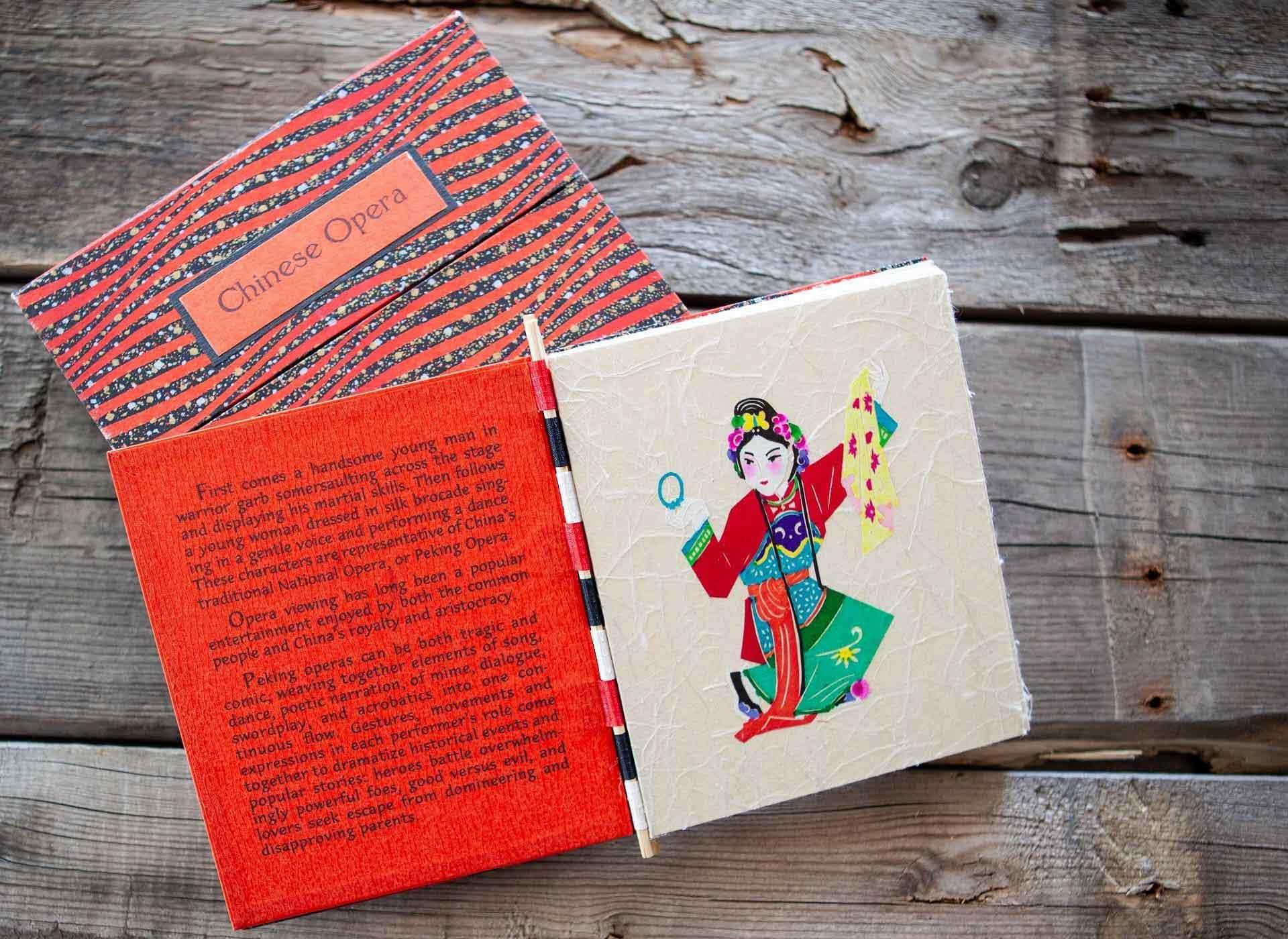Chinese opera book