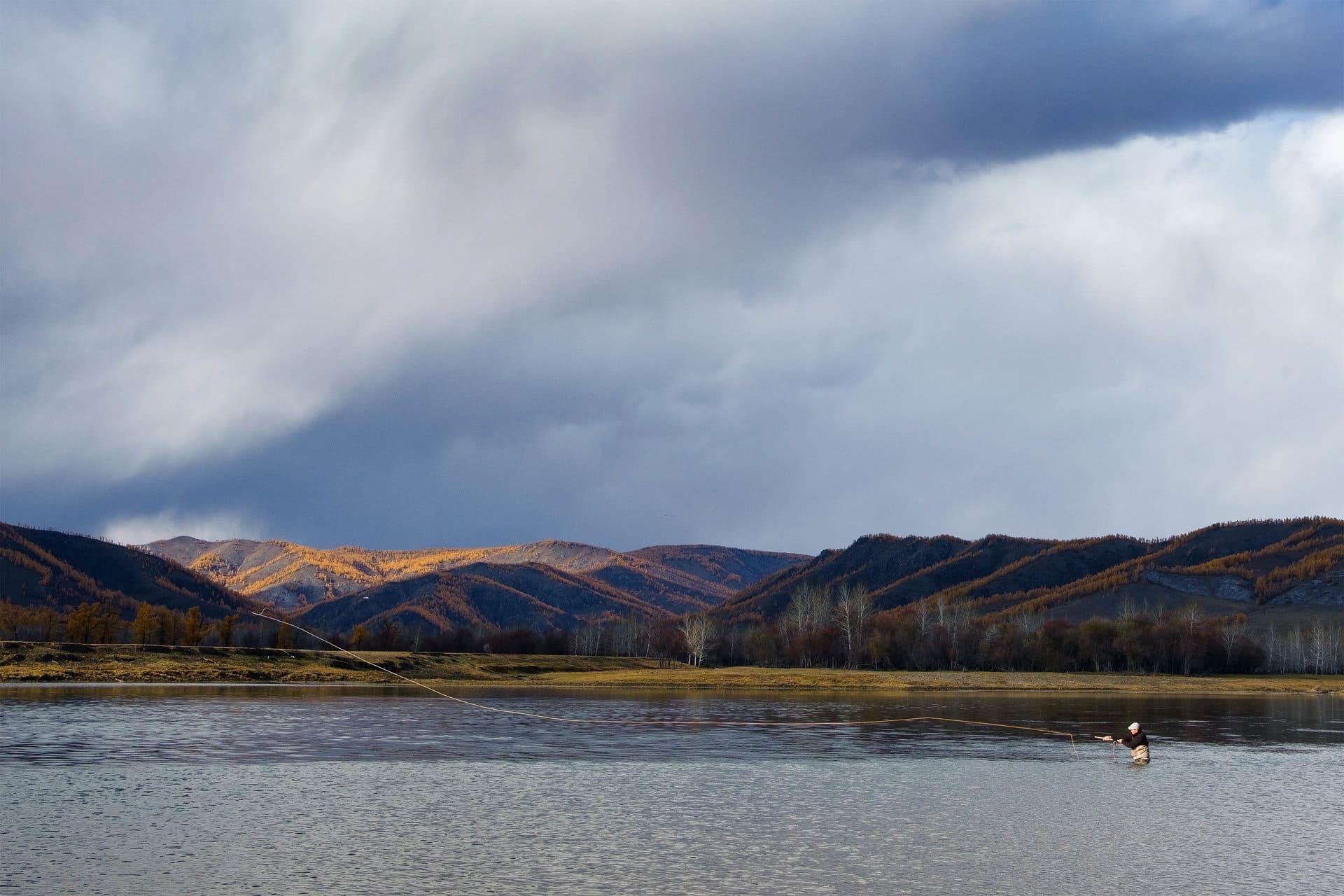 mongolia fly fishing