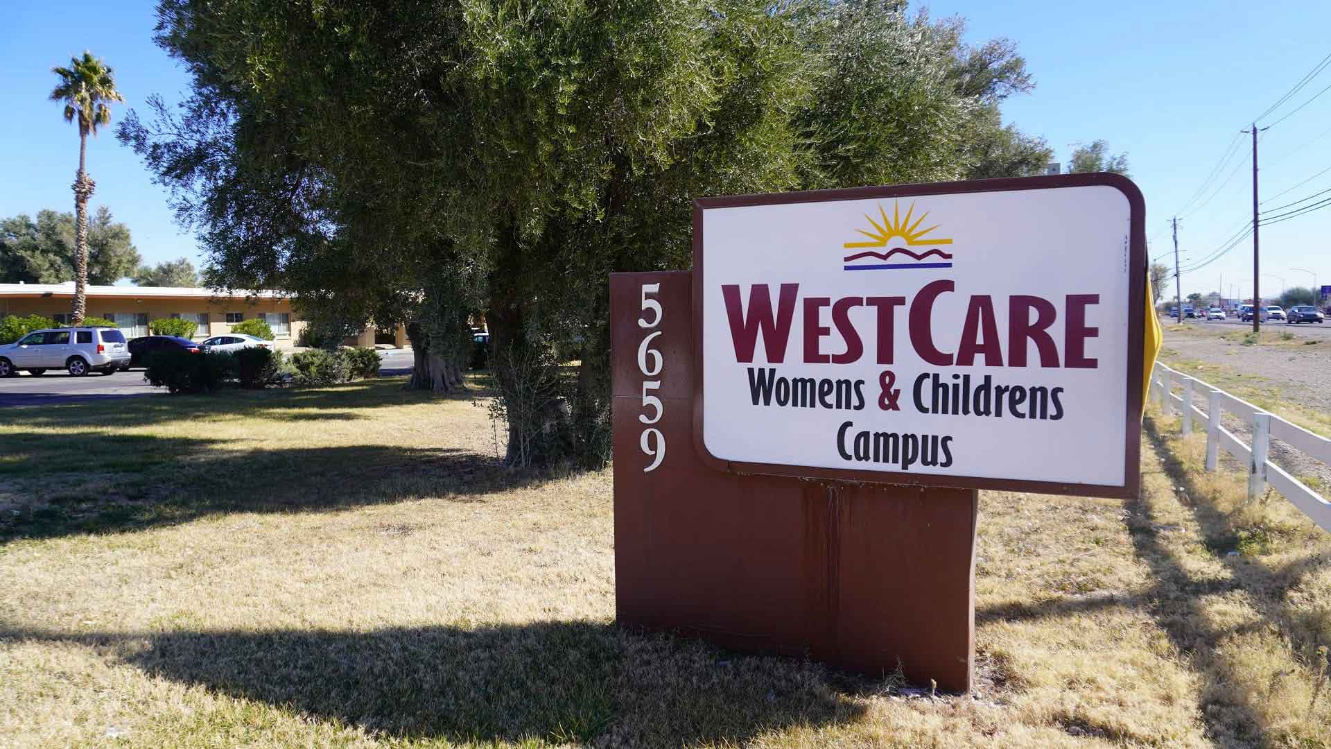 WestCare Women and Children's Campus sign