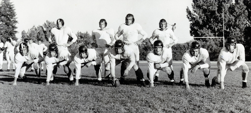 Wolf Pack football starters 1952