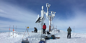 extreme weather and fire camera monitoring tower