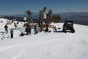 installing camera system on slide mountain