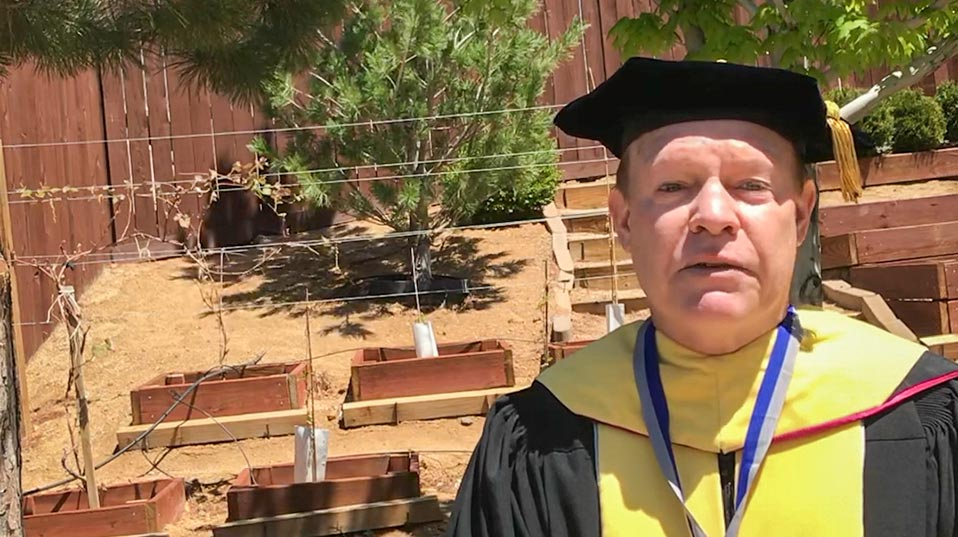 congratulations video by Bill Payne