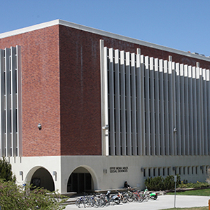 Exterior of Mack Social Sciences