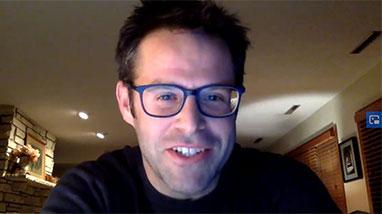 Philip on Zoom screen