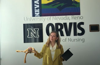Congratulations message from the Dean of the Orvis School of Nursing
