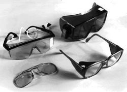 A few examples of appropriate uv-protective goggles