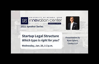 Guest speaker Ryan Spiers from the Startup Legal Structure webinar