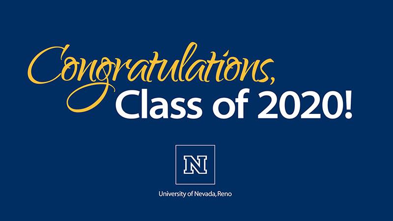 Congratulations class of 2020 screenshot from video