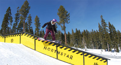 """Ford placed 9th in the 2007 """"Vans Cup at Tahoe,"""" an international pro contest. Photo provided by Jes Ford."""
