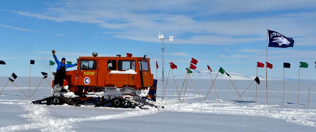 tyler at antarctica