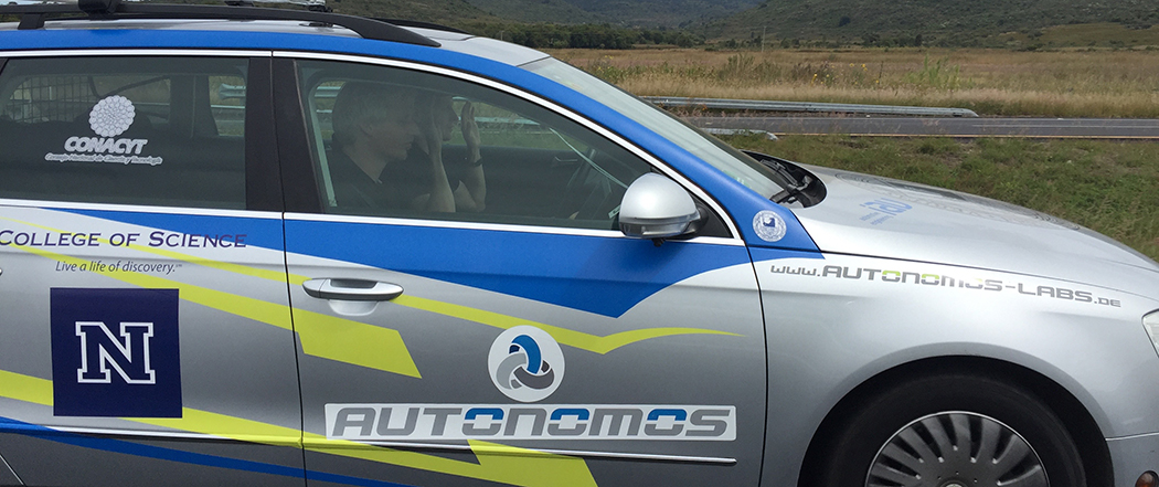 Raul Rojas Autonomous Drive in Mexico