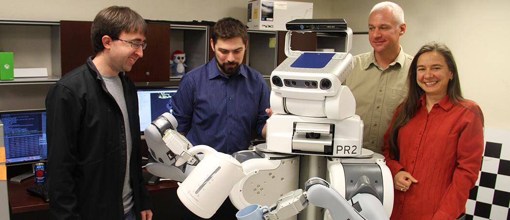 autonomous robot research