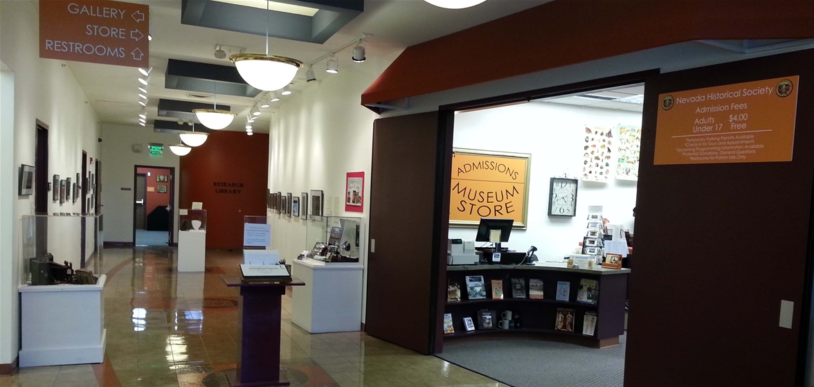 Inside the Nevada Historical Society