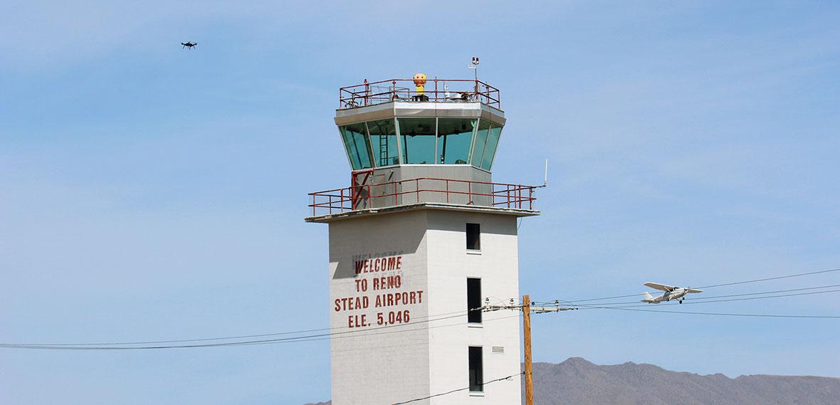 NUANCE Lab-NASA run research at Reno-Stead Airport