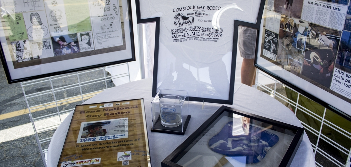 Gay rodeo artifacts