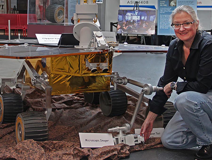 Mars Explorer Wendy Calvin