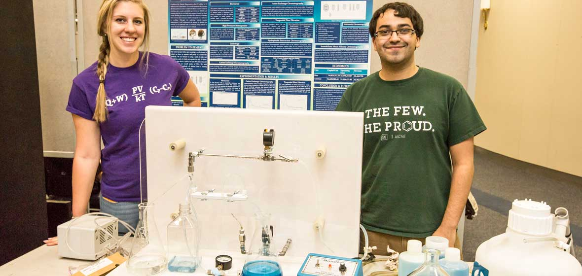 Chemical and Materials Engineering students at Innovation Day