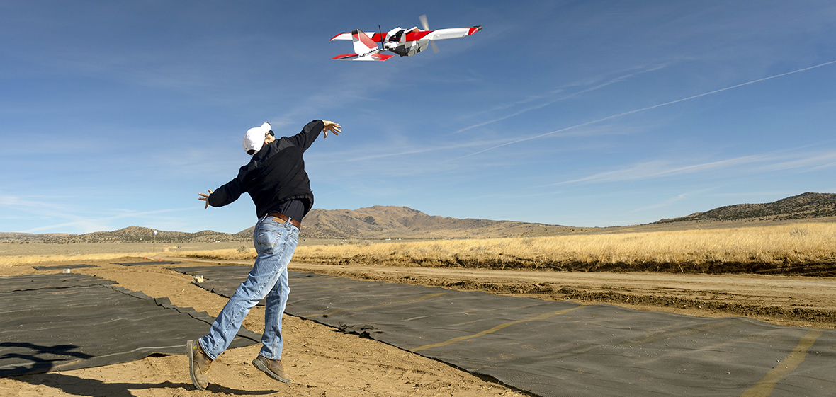 NASA UNR beyond line of sight testing