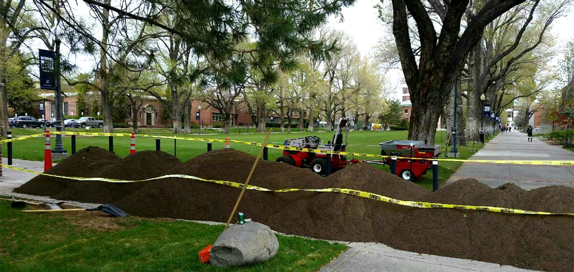 The Scoop On The Greenery University Landscaping Digs Full Circle