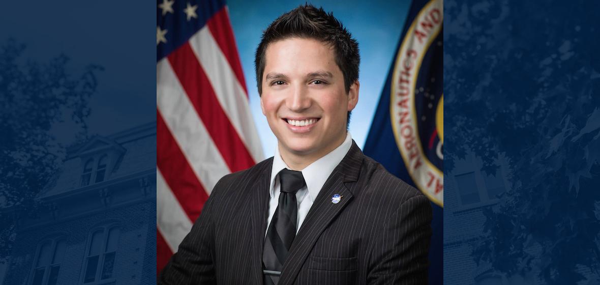 Manuel Retana's NASA internship photo