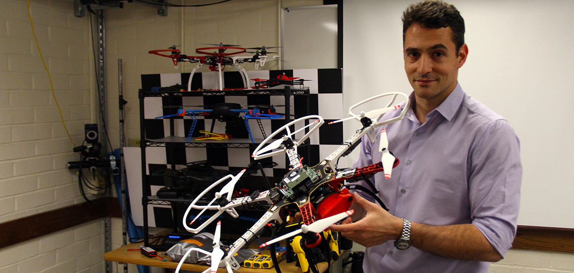 Kostas Alexis hosts Robotics Day