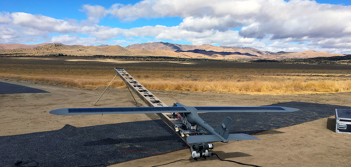 fixed wing aircraft part of NASA research