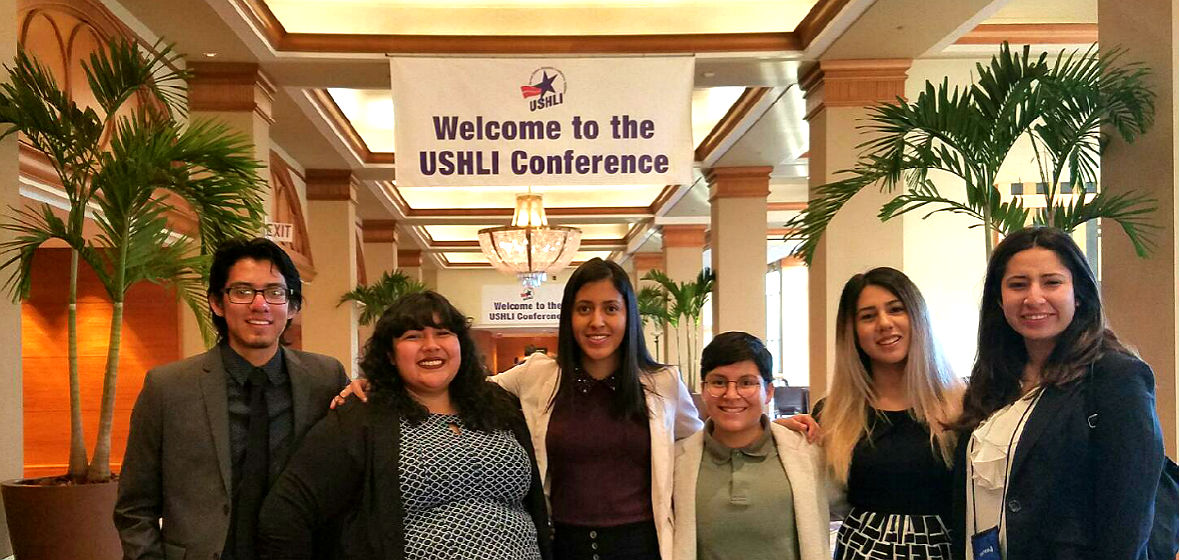 University students who attended the USHLI conference in Chicago.