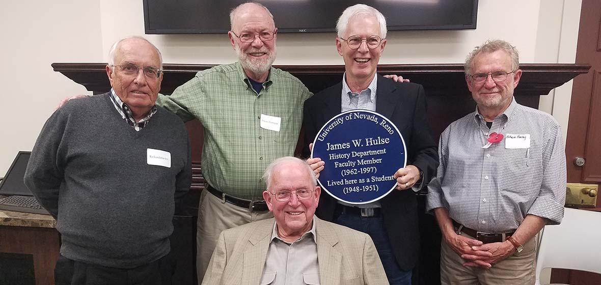 Emeritus Faculty at History Reception