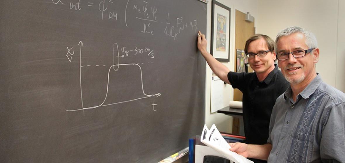 Explaining search for dark matter