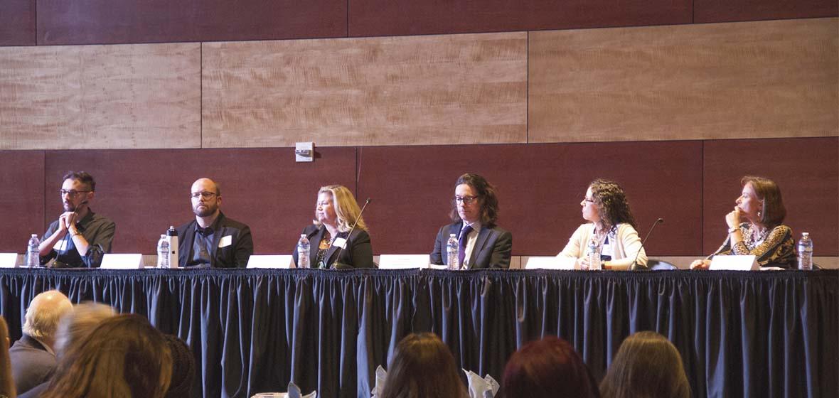 Liberal Arts Career Night Panelists at the University of Nevada, Reno ballrooms