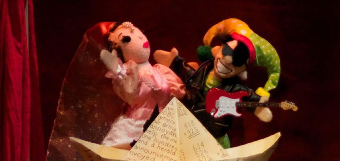 Flying Carpet Theatre Company felt puppets