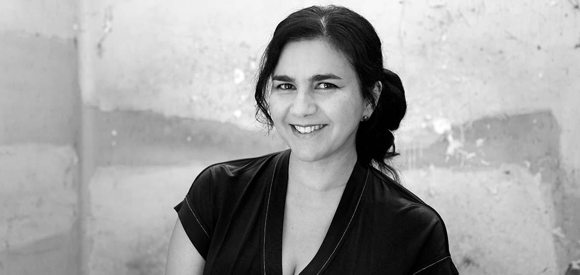 Bárbara Colio posed for a portrait