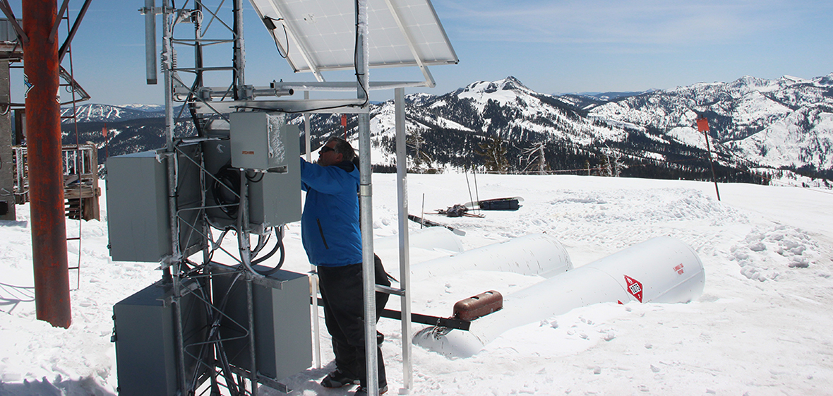 mt lincoln weather station