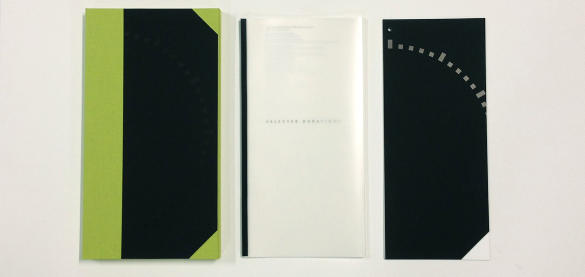 Selected Durations book published by Black Rock Press