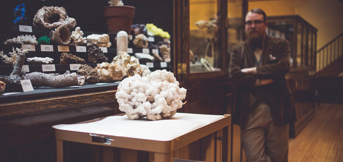 Halite on display