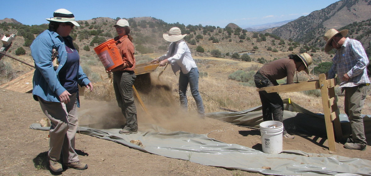 Anthropologists working in the field