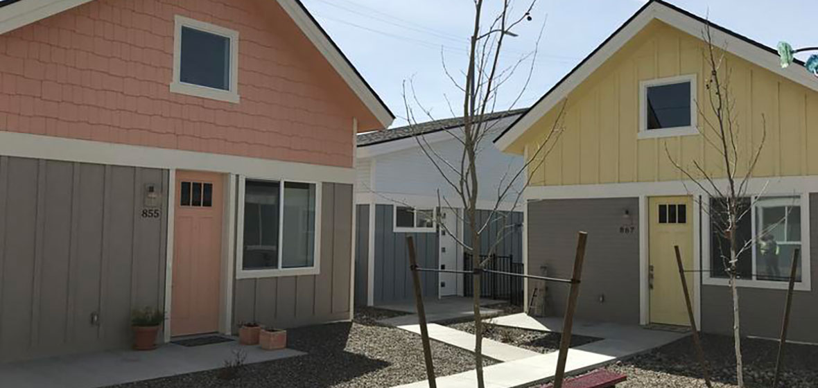 Two tiny homes in Reno