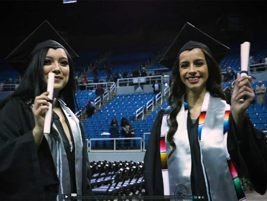 Perla Gonzalez Roman and Martha Georgina Aguilar